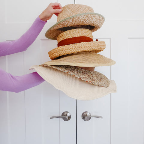 How to Turn Stylish Hats into Wall Décor