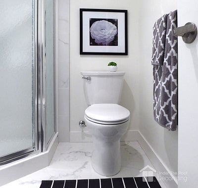Creating a focal point in a bathroom