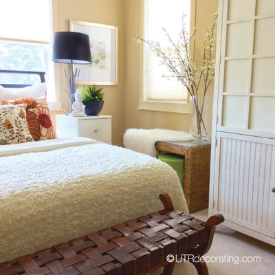 1-day bedroom makeover on a budget