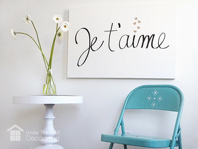 Spruce up your walls with these 12 easy art projects
