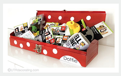 "Holiday Contest:  Win ""Dottie"" the Polka Dot Tool Box"
