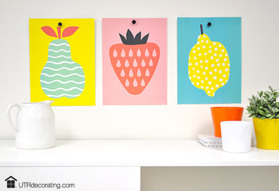 How to Hang Posters Without Putting Holes in Your Walls