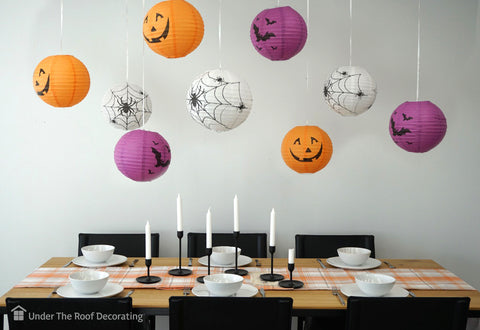 Wow Your Guests with Halloween Lanterns: A fun and easy way to decorate for Halloween