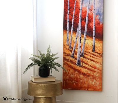 Hanging Canvases the Easy Way: Decorating with canvases has never been easier