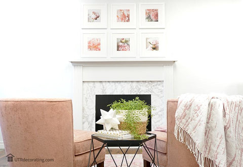 The Easiest Way to Hang Pictures Above a Fireplace