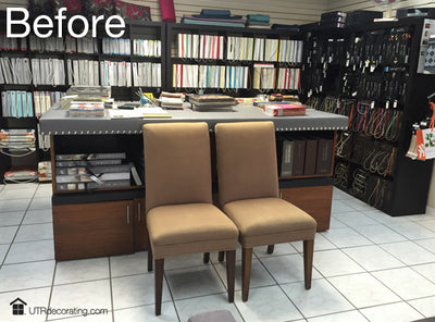 Before and after: dining chair makeover