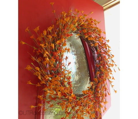 Jazz Up Your Door with a Fall Wreath