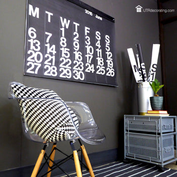 Chic multi-purpose wall calendar