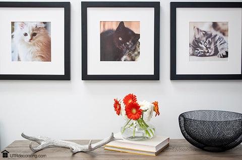 Budget-friendly art: frame images from your favorite calendar
