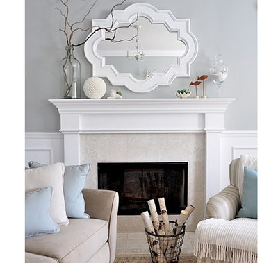 Tip Tuesday: Hanging a Mirror Above a Fireplace Mantle