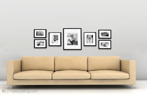 1 Sofa, 7 Frames, 7 Looks
