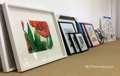Picture Hanging Tip: Organized Art