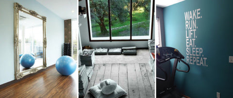 Keep New Year's Resolutions on Track with a Home Gym