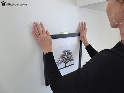 Hang pictures perfectly straight with this Mini level