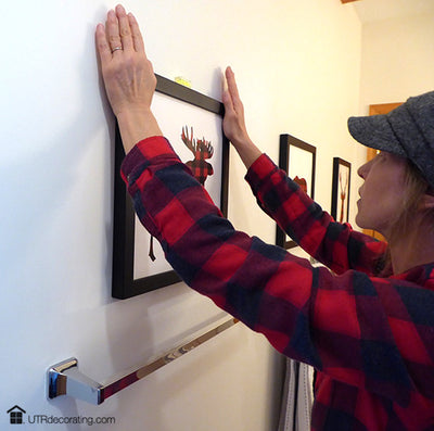 Don't let mistake holes scare you – hang stuff with no fear