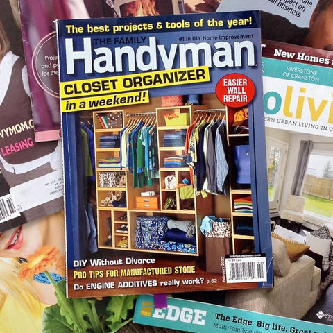 Throwback Thursday: Hang & Level in The Family Handyman