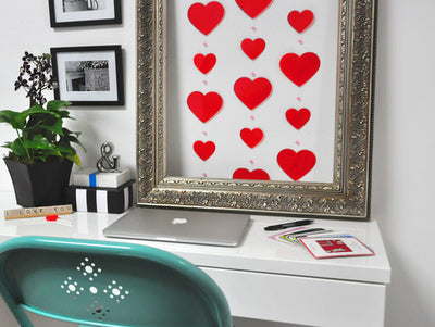 Last Minute Budget Friendly Valentine Décor Ideas
