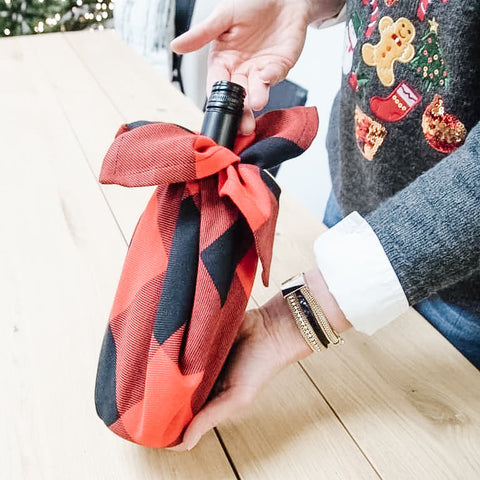 Holiday DIY: Make Your Own Wine Bottle Covers
