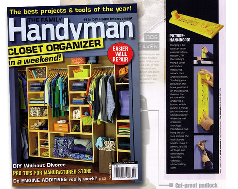 Hang & Level – Tough Enough for the Family Handyman