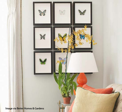 Recreate magazine perfect décor on your own walls