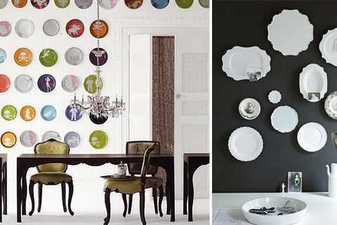 Eye catching plate displays