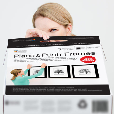 They're here! Check out our brand new Place&Push™ Frames