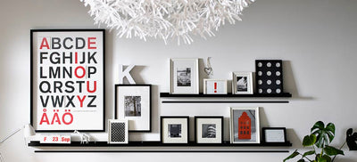 How to get IKEA Ribba Frames to Behave