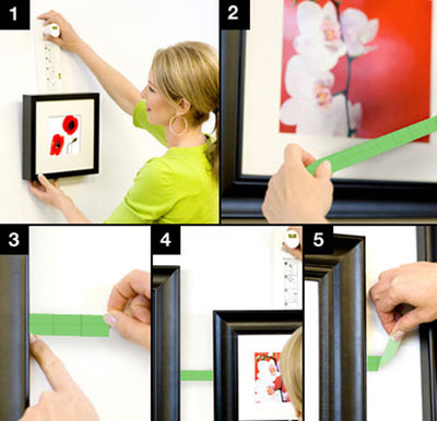 Tips to Space Picture Frames Evenly