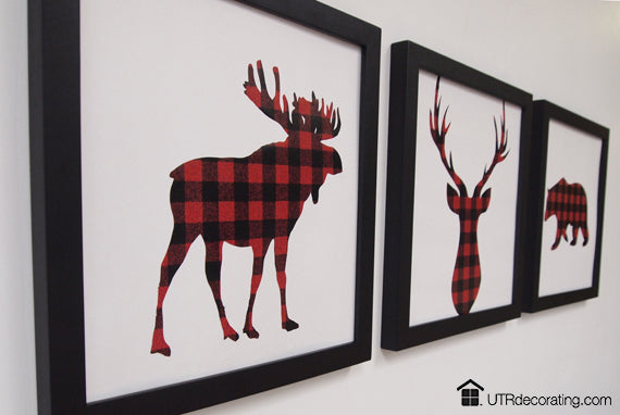Plaid art