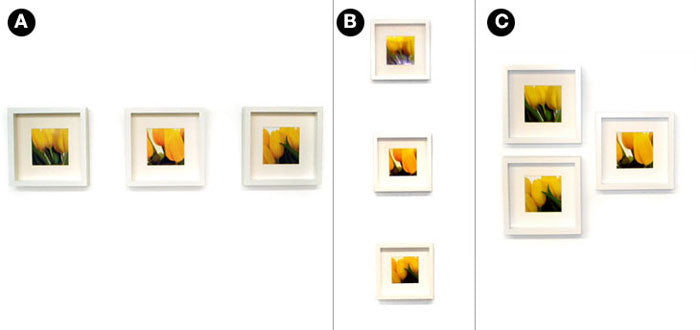 Quick Easy Ways To Hang 3 Picture Frames
