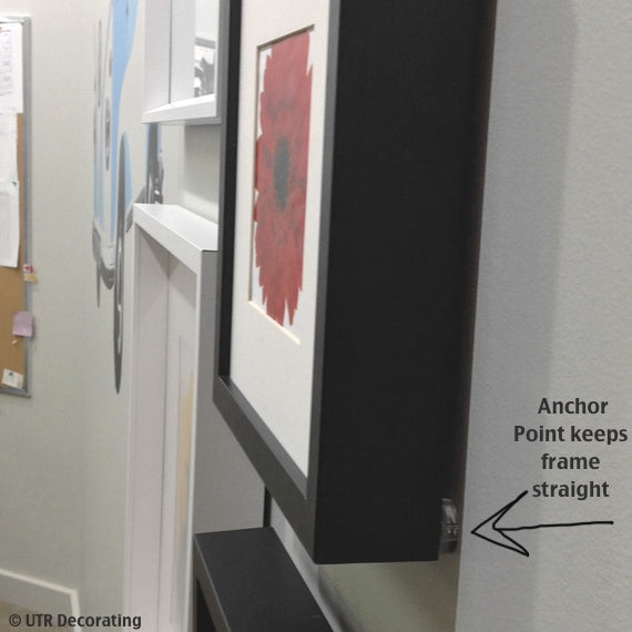 Anchor Point keeps frame straight