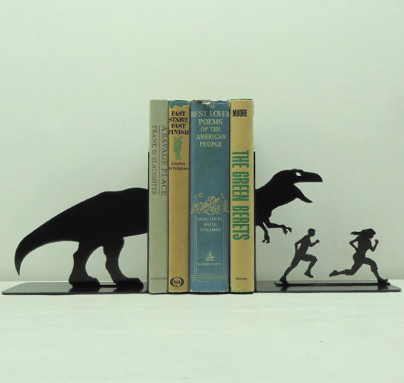 Bookend dinosaurs