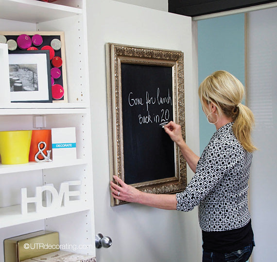 Making a chalkboard