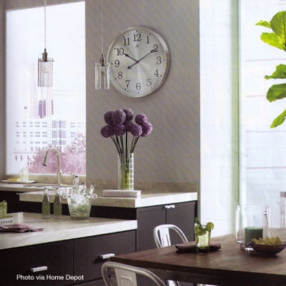Clocks - decorating with