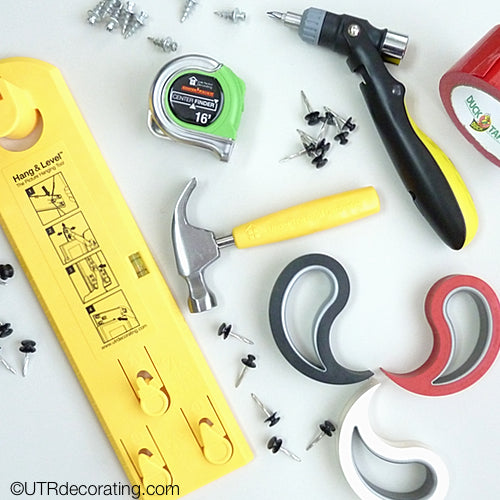 Tool kit with essential tools College aged kids should have to get their dorm room and first apartment ready for school