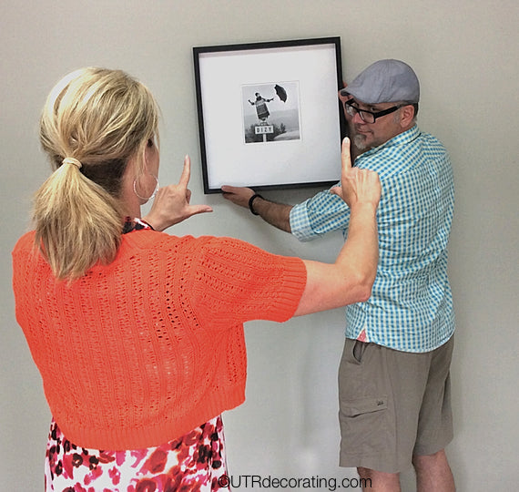 Couples hanging pictures together can be frustrating, most of the time it ends up in argument