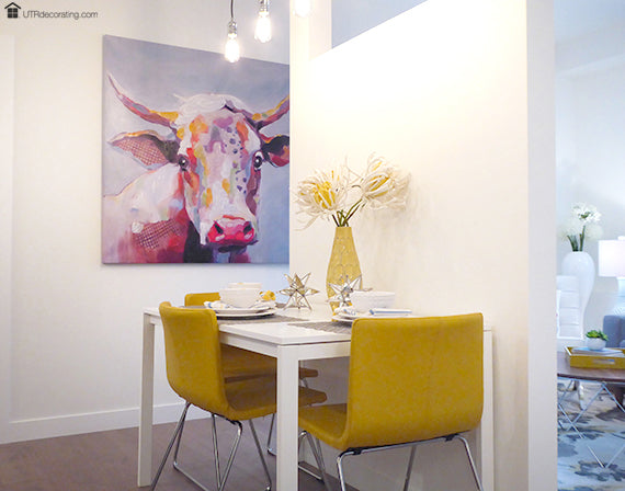 Decorate your walls with large canvas art – UTR Decorating