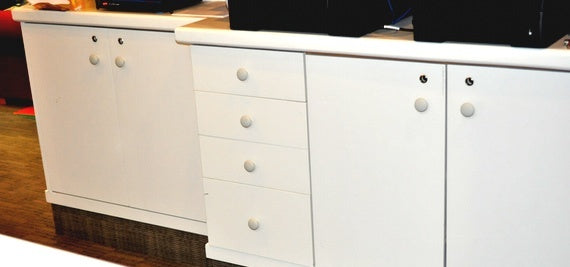 Drawer knobs after