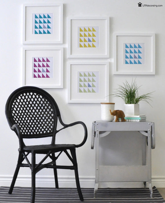 How to hang pictures without using any tools – UTR Decorating