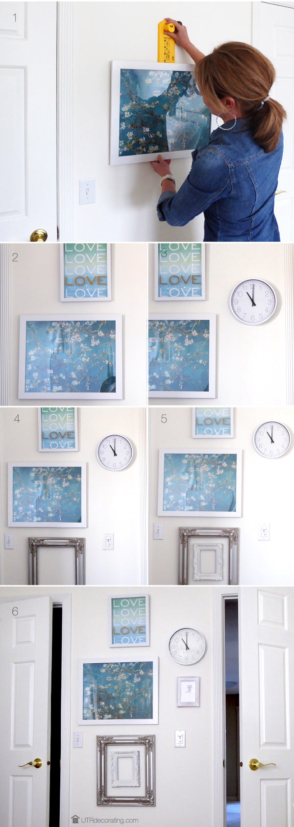 Gallery wall how to steps