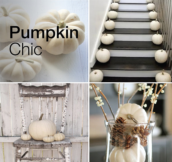 Halloween decor white