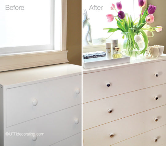 IKEA dresser feature