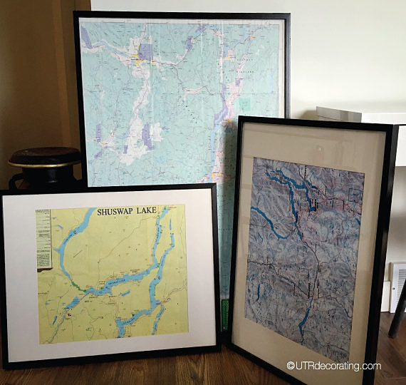 Smart Ideas for Decorating With Maps