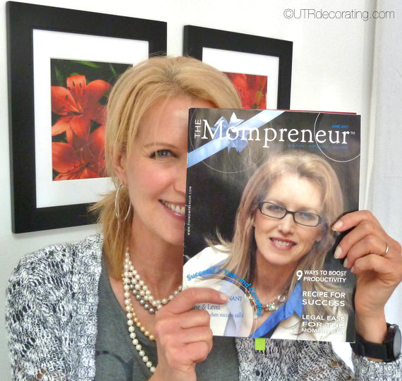 Here I am, Mompreneur magazine cover girl for the 2006 issue. Wow, already 7 years since that famous cover.