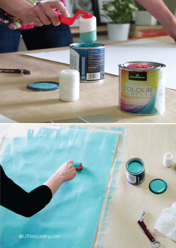Making my own paint color swatches