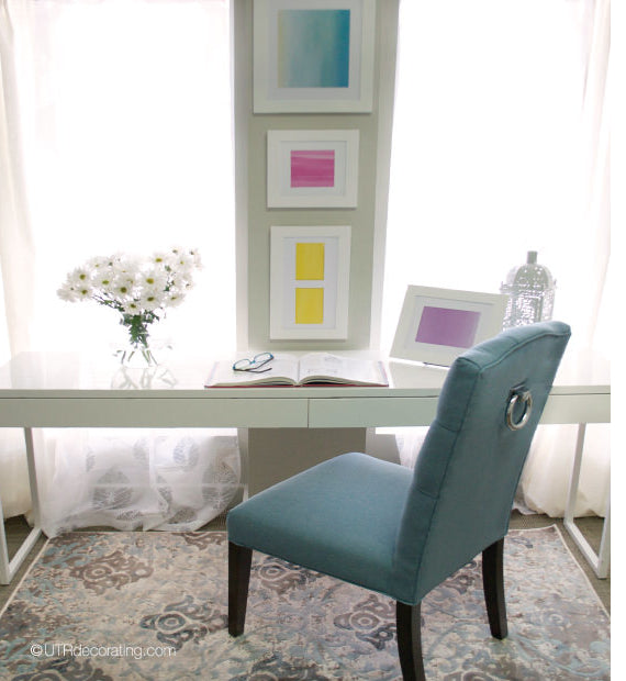 Decorating with pastel colours