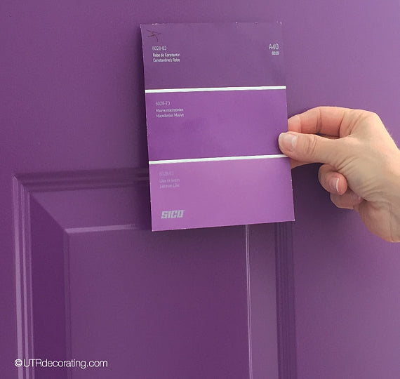 Choosing a color for your front door