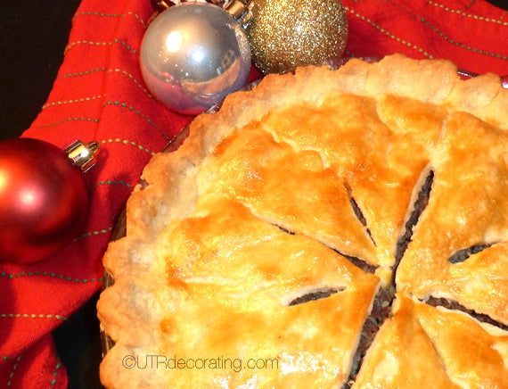 Baked tourtiere a French canadian tradition