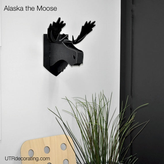 Wall noggins Alaska the Moose