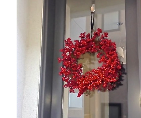 Here's how to hang a wreath without damaging your door